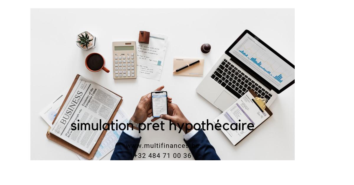 simulation pret hypothécaire